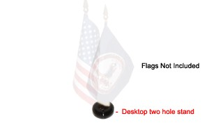 [Desktop] 4X6 Flag Holder (2 hole)